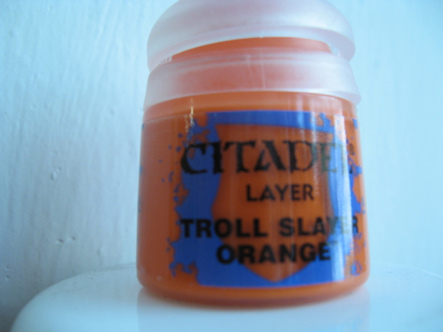 Citadel Layer - Troll Slayer Orange