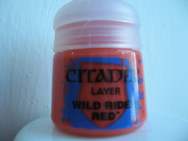 Citadel Layer - Wild Rider Red