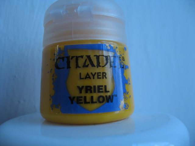 Citadel Layer - Yriel Yellow