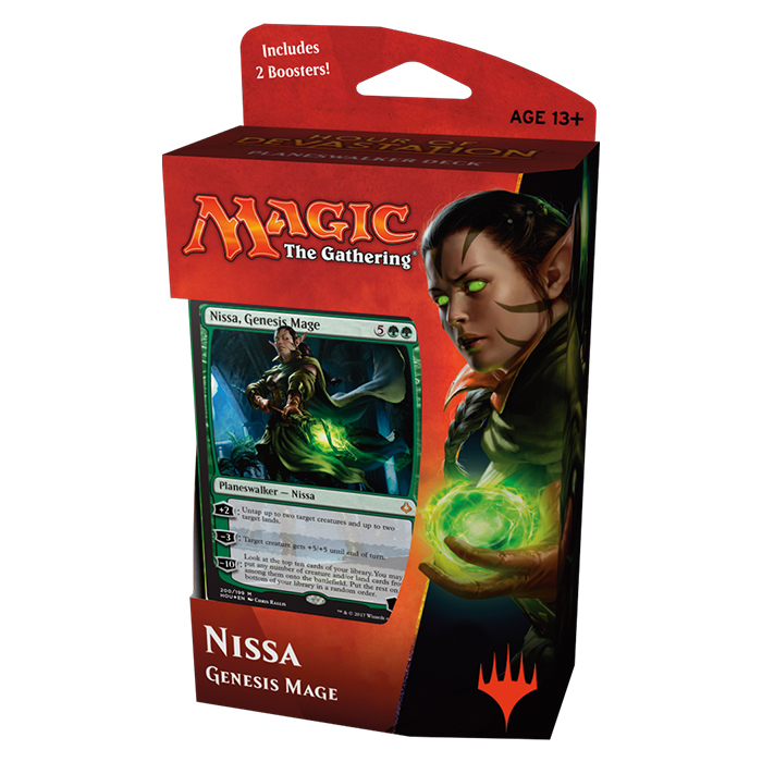 Magic tG - Hour of Devastation - Planeswalker Deck Nissa