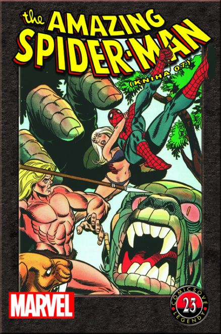 Comixové legendy 23 - The Amazing Spiderman - Kniha 07