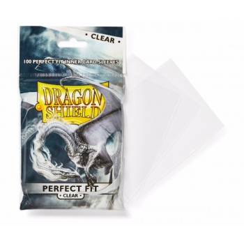 Dragon Shield obaly - Standard Perfect Fit Sleeves - čiré