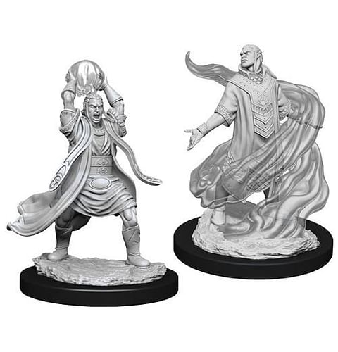 Dungeons & Dragons: Nolzur's Miniatures - Male Elf Sorcerer