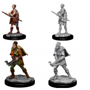 Dungeons & Dragons: Nolzur's Miniatures - Female Human Ranger