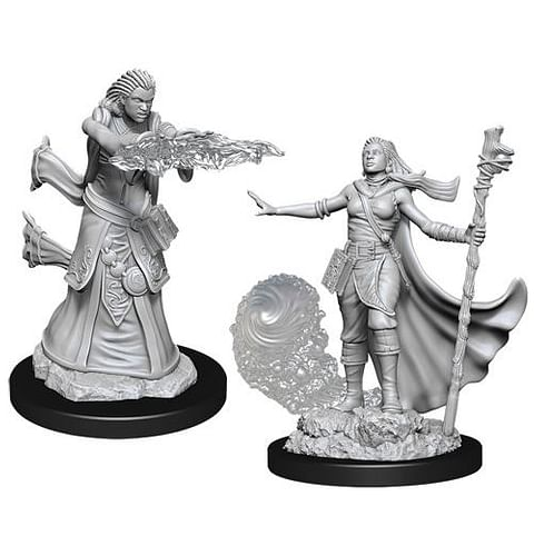 Dungeons & Dragons: Nolzur's Miniatures - Female Human Wizard