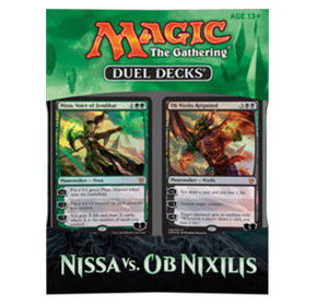 Magic tG Duel Deck - Nissa vs. Ob Nixilis