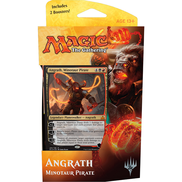 Magic tG - Rivals of Ixalan Angrath - Planeswalker Deck