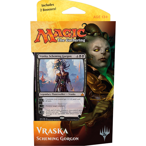 Magic tG - Rivals of Ixalan Vraska - Planeswalker Deck