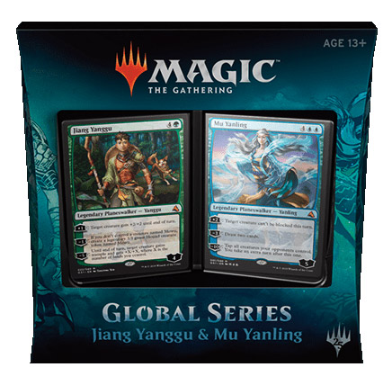 Magic tG - Global Series Planeswalker Decks - Jiang Yanggu & Mu Yanling