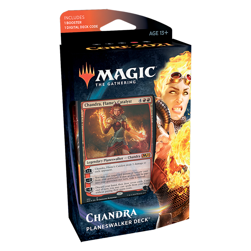 Magic tG 2021 - Planeswalker Deck - Chandra