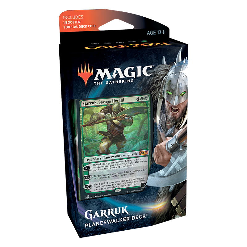 Magic tG 2021 - Planeswalker Deck - Garruk