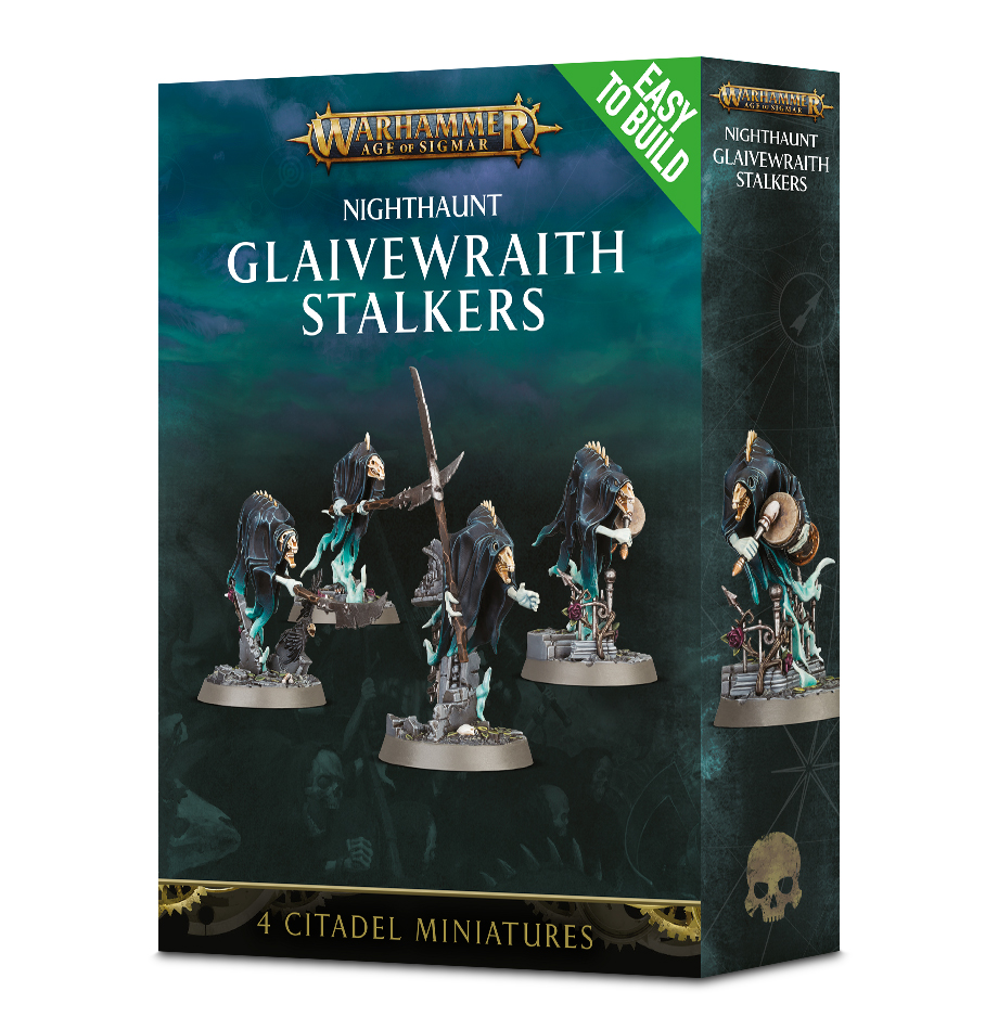 AoS - Easy to Build - Nighthaunt: Glaivewraith Stalkers