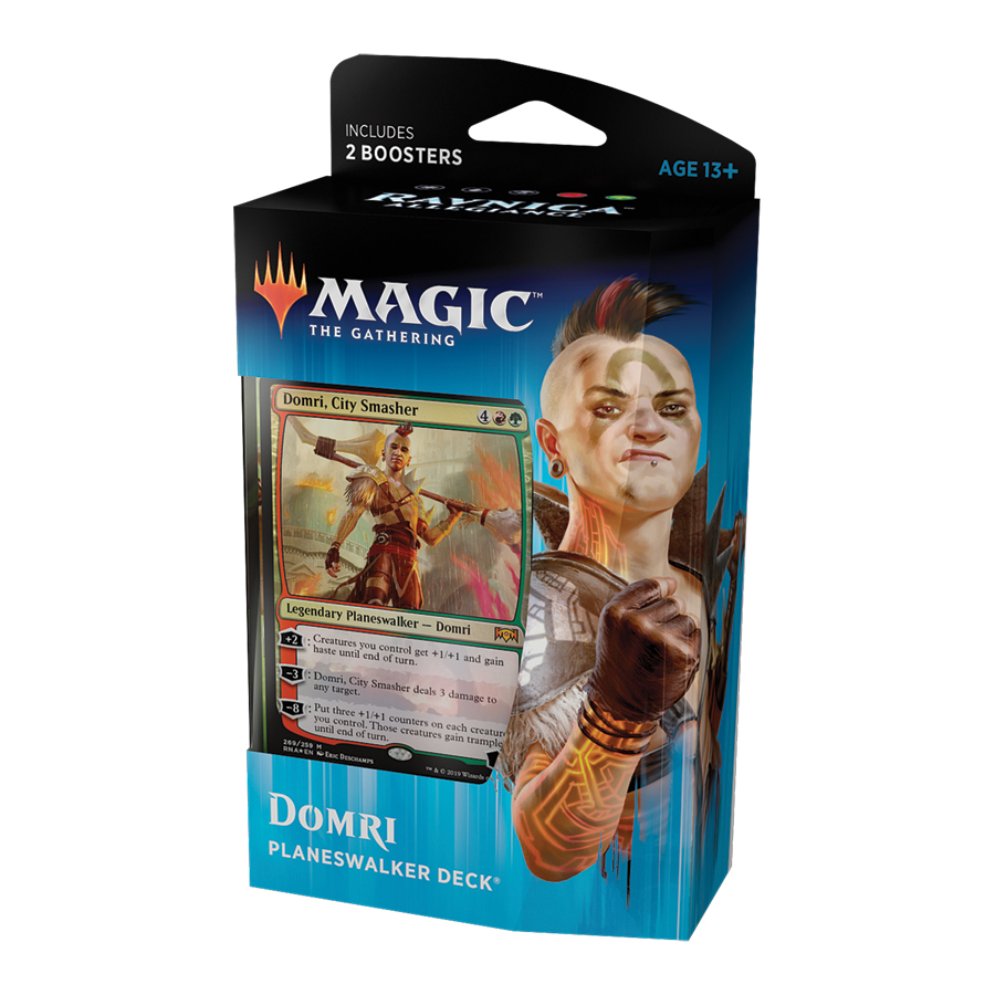 Magic tG - Ravnica Allegiance - Planeswalker Deck - Domri