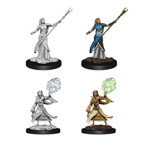 Dungeons & Dragons: Nolzur's Miniatures - Female Elf Sorcerer