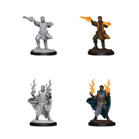 Dungeons & Dragons: Nolzur's Miniatures - Male Human Sorcerer