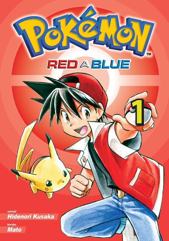 Kusaka H., Mato - Pokémon 1 - Red a Blue