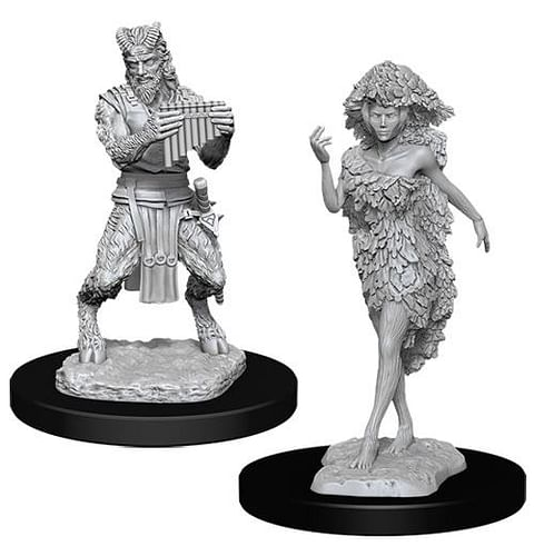 Dungeons & Dragons: Nolzur's Miniatures - Satyr & Dryad
