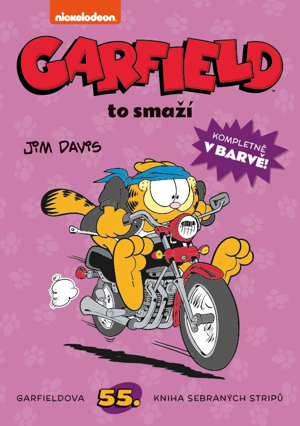 Davis J.- Garfield č.55 - Garfield to smaží
